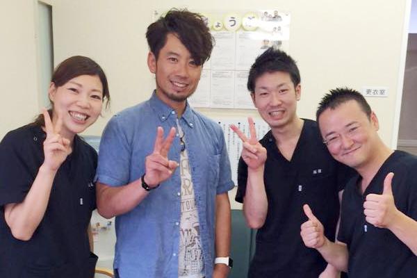 ASIAN KUNG-FU GENERATION(アジカン)さん当院にご来院いただきました。